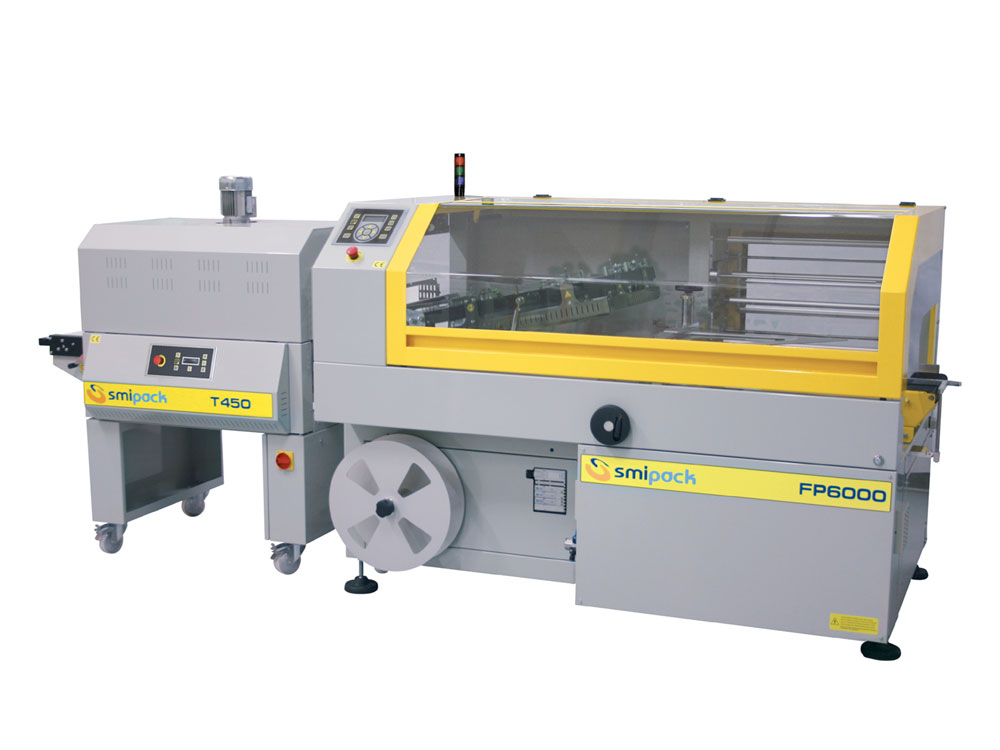 Smipack FP-6000 automatic shrink wrapper